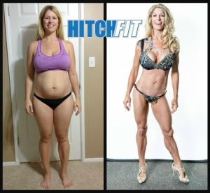 Sara Before and After Hitch Fit Transformation Online Fitness